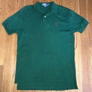 Polo Ralph Lauren Men's Green Shirt Size Medium